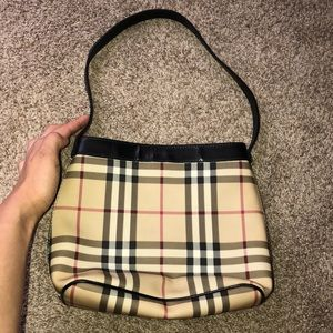 Plaid Burberry Mini Handbag